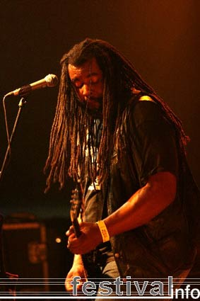 Foto Alvin Young Blood Hart op Moulin Blues 2006
