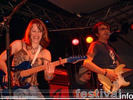 Erja Lyytinen op Moulin Blues 2006 foto