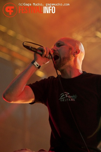 Meshuggah op Off Festival 2011 foto