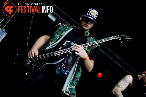 Bury Your Dead op Ieperfest 2011 foto
