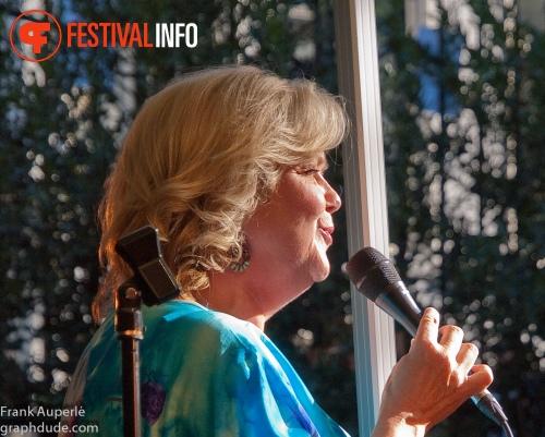 Foto Mathilde Santing op Jazz Festival Delft