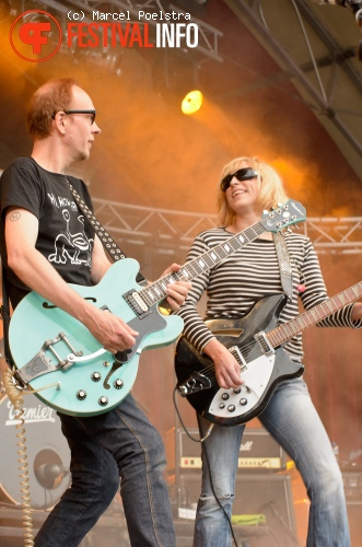 Bettie Serveert op Into The Great Wide Open 2011 foto