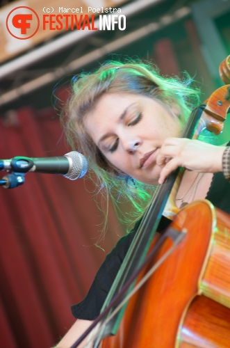 Agnes Obel op Into The Great Wide Open 2011 foto