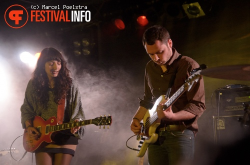Intergalactic Lovers op Into The Great Wide Open 2011 foto