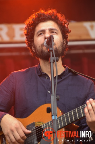Junip op Into The Great Wide Open 2011 foto