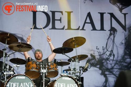 Delain op Appelpop 2011 - dag 2 zaterdag foto