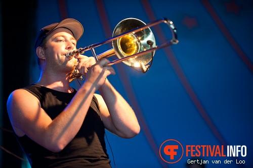 Mark Foggo's Skasters op Baroeg Open Air 2011 foto