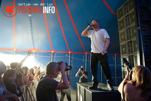 Born From Pain op Baroeg Open Air 2011 foto