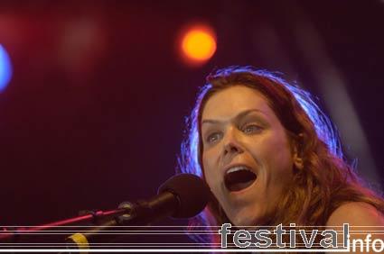 Foto Beth Hart op Dauwpop 2006