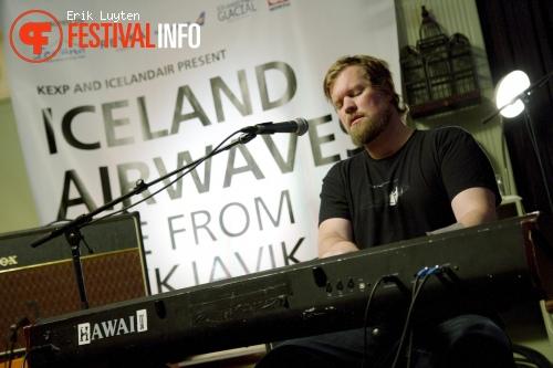 Foto John Grant op Iceland Airwaves 2011