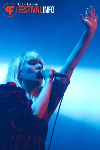 Foto Austra op Iceland Airwaves 2011