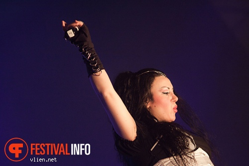 Visions Of Atlantis op Metal Female Voices Fest 2011 foto