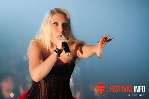 Therion op Metal Female Voices Fest 2011 foto