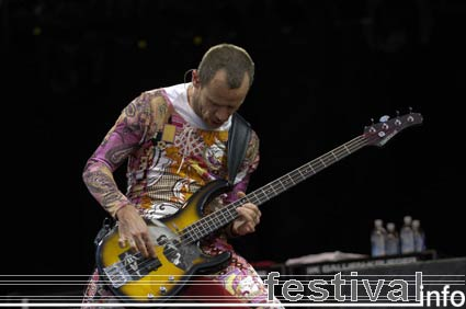 Foto Red Hot Chili Peppers op Pinkpop 2006