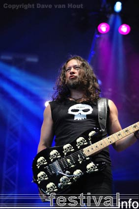 Foto Queensrÿche op Arrow Rock Festival 2006