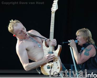 Def Leppard op Arrow Rock Festival 2006 foto