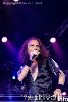 Dio (Ronnie James) op Arrow Rock Festival 2006 foto