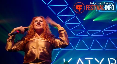 Katy B op I Love Techno 2011 foto