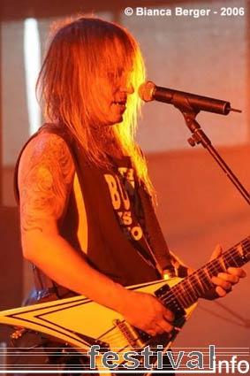 Chris Caffery op Lorca Rock 2006 foto