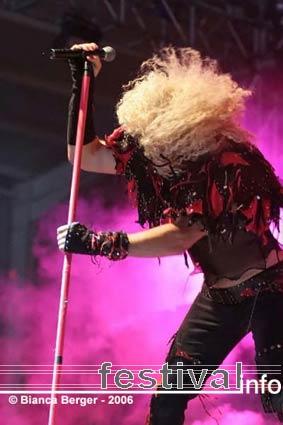 Twisted Sister op Lorca Rock 2006 foto