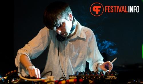 James Holden op STRP Festival 2011 foto