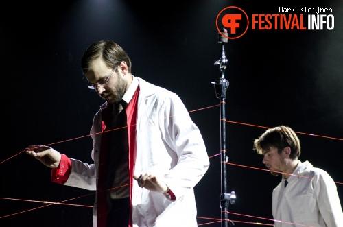 Matthew Herbert op STRP Festival 2011 foto
