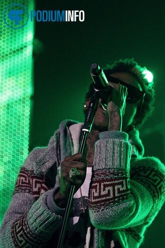 Wiz Khalifa op Wiz Khalifa - 16/11 - Heineken Music Hall foto