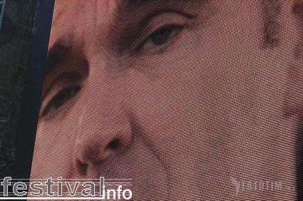 Morrissey op Roskilde foto