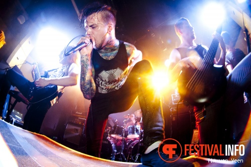 Foto Betraying The Martyrs op Neurotic Deathfest 2012