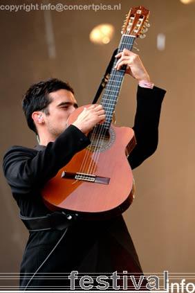 Gabriel Rios op Bospop 2006 foto
