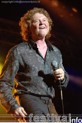 Simply Red op Bospop 2006 foto