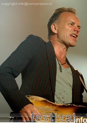 Sting op Bospop 2006 foto