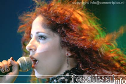 Stream of Passion op Bospop 2006 foto