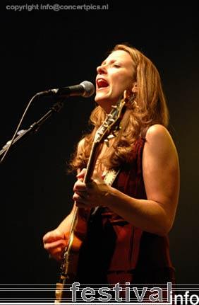 Susan Tedeschi op Bospop 2006 foto