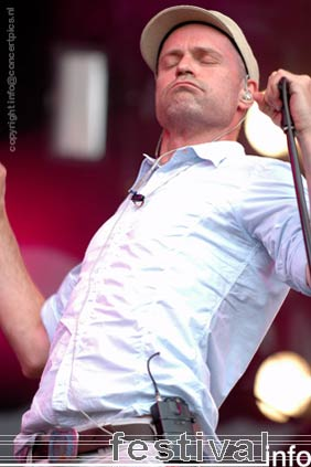 The Tragically Hip op Bospop 2006 foto