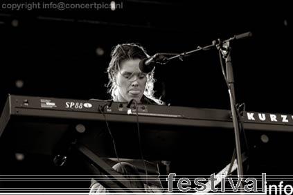 Foto Beth Hart op Bospop 2006
