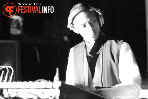 Jeff Mills op 5 Days Off 2012 foto