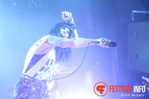 Sleigh Bells op 5 Days Off 2012 foto