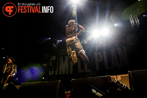Simple Plan op Groezrock 2012 foto