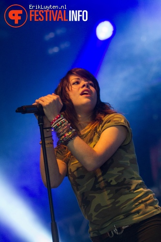 We Are The In Crowd op Groezrock 2012 foto