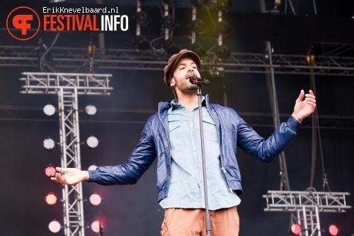 Foto Alain Clark op Bevrijdingsfestival Overijssel 2012