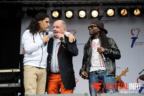 Foto Ali B op Bevrijdingsfestival Den Haag 2012