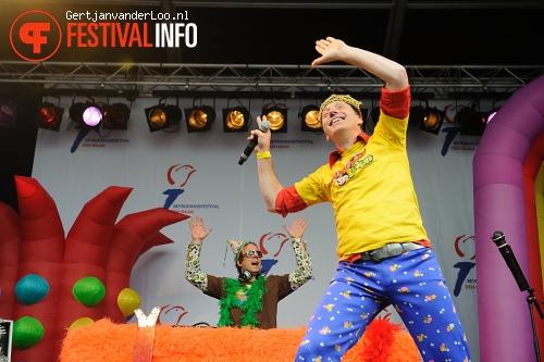 Wipneus en Pim op Bevrijdingsfestival Den Haag 2012 foto