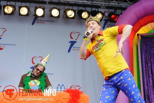 Foto Wipneus en Pim op Bevrijdingsfestival Den Haag 2012