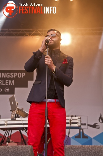 Sef op Bevrijdingspop Haarlem 2012 foto