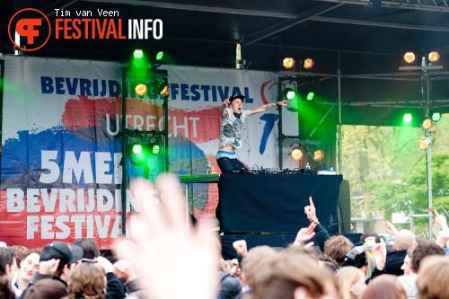Dem Sleckers op Bevrijdingsfestival Utrecht foto