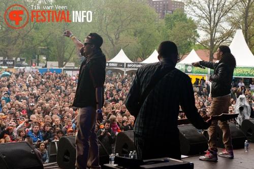 Ali B op Bevrijdingsfestival Utrecht foto