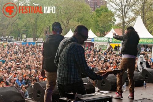 Foto Ali B op Bevrijdingsfestival Utrecht