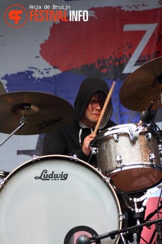 Death Letters op Bevrijdingsfestival Zuid Holland 2012 foto
