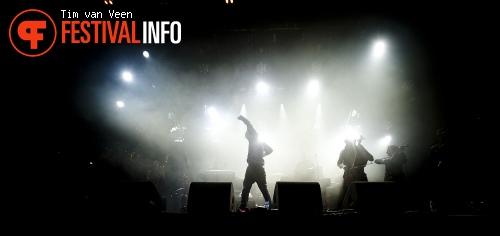 The Kyteman Orchestra op Dauwpop 2012 foto